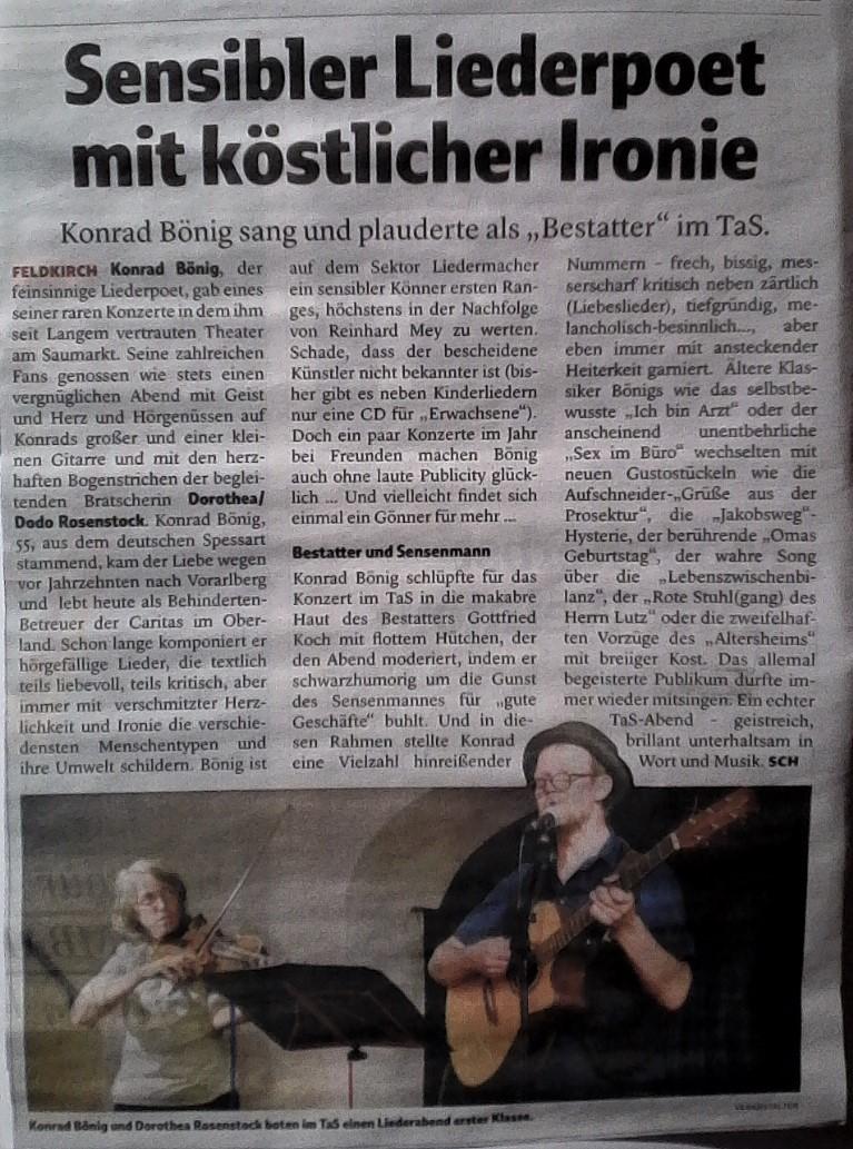News Konrad Bönig